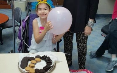 Little Smiles surprises 8 year old with birthday party